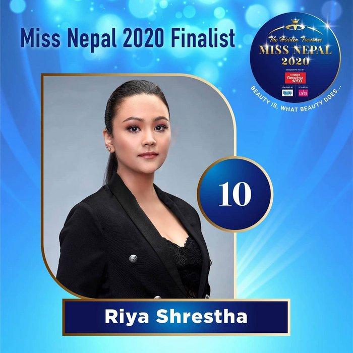 CANDIDATAS A MISS NEPAL 2020. FINAL 3 DE DICIEMBRE. 10