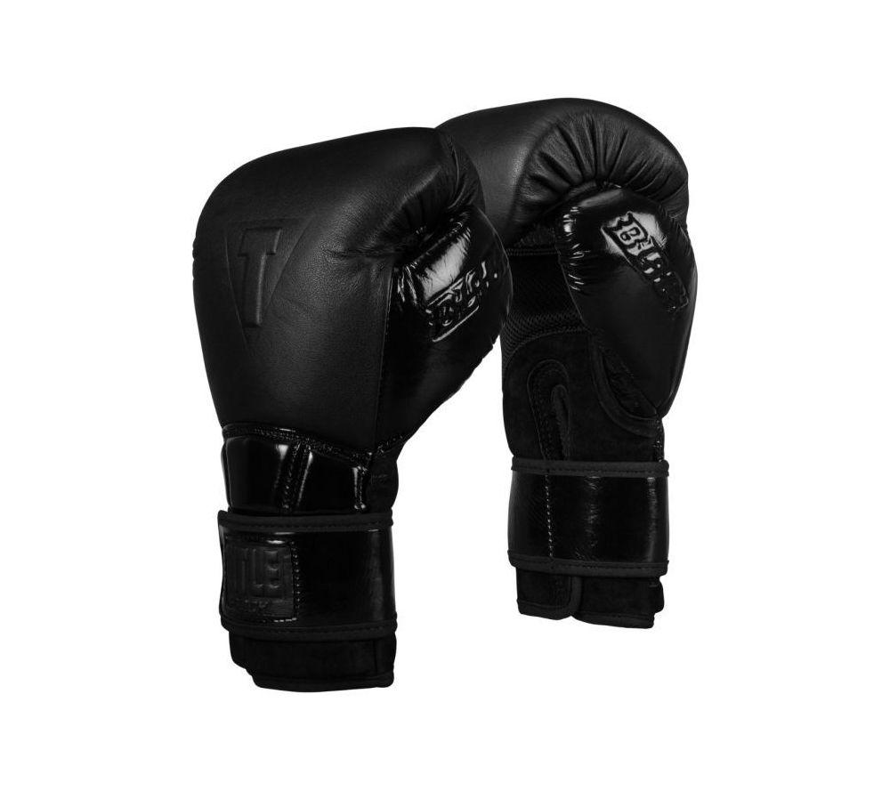 Боксерские перчатки Title Black Firerce - Оригинал