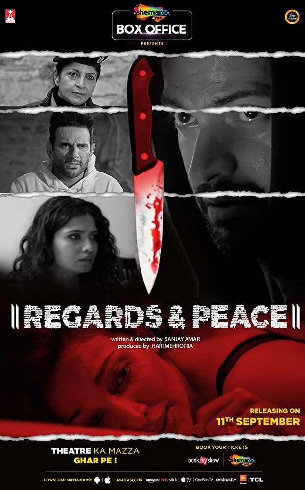 Regards & Peace (2020) Hindi 720p HDRip Esubs DL