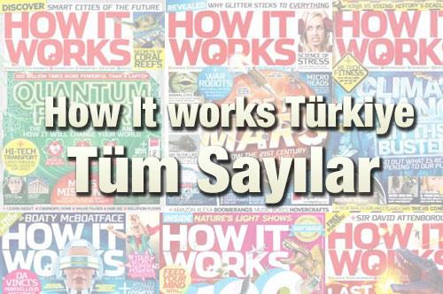 How It works Türkiye Dergisi 2018-2019-2020 Tüm Sayıları