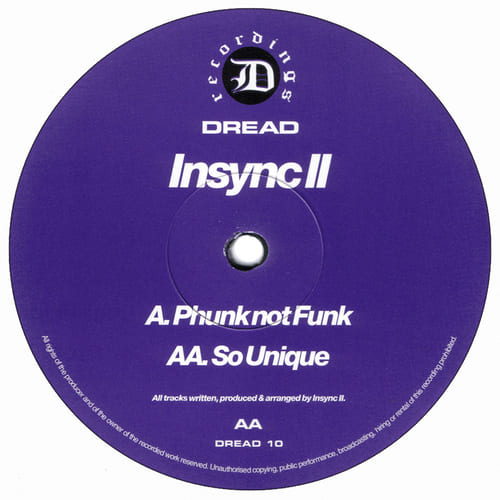Download Insync II - Phunk Not Funk / So Unique mp3