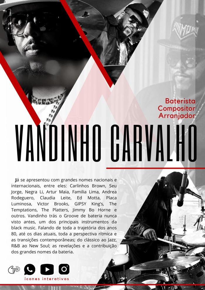 Extreme Groove - Vídeo-aula de bateria de Vandinho Carvalho Vando2