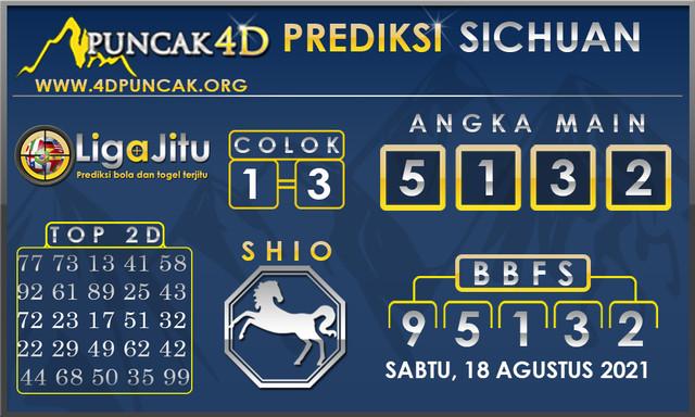 PREDIKSI TOGEL SICHUAN PUNCAK4D 14 AGUSTUS 2021