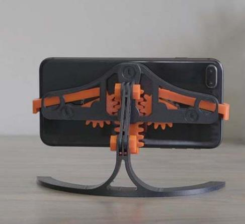 Mechanical Quick Grab/Release Phone Stand - Cool Things to 3D Print