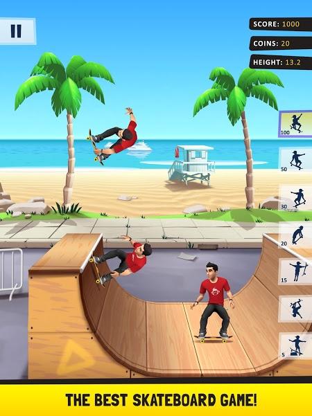 Flip Skater (MOD, Money/Unlocked All)