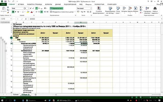 C Excel