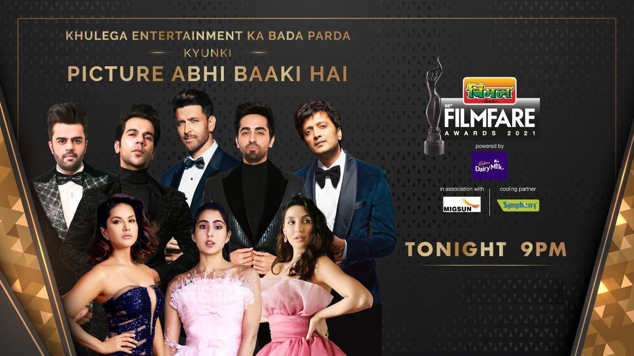 Filmfare Awards 2021 11th April 2021 Full Show 720p HDRip 1GB Download