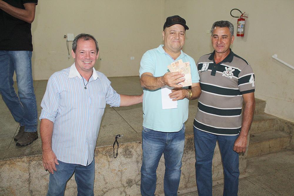 Dupla que ficou em 3º lugar, Leomar e Reinaldo