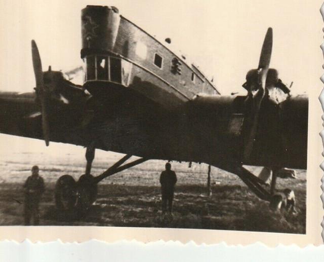 2-WK-Foto-Photo-Sowjetische-Flugzeug