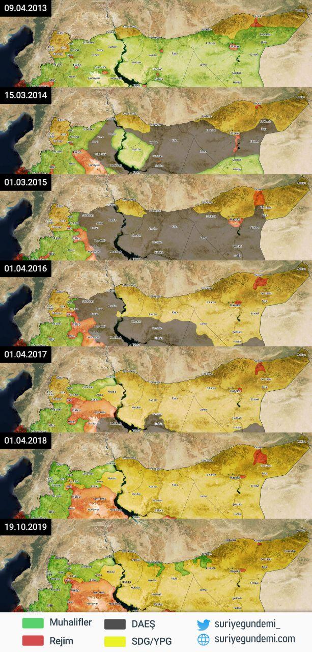 Evolution-Syrie