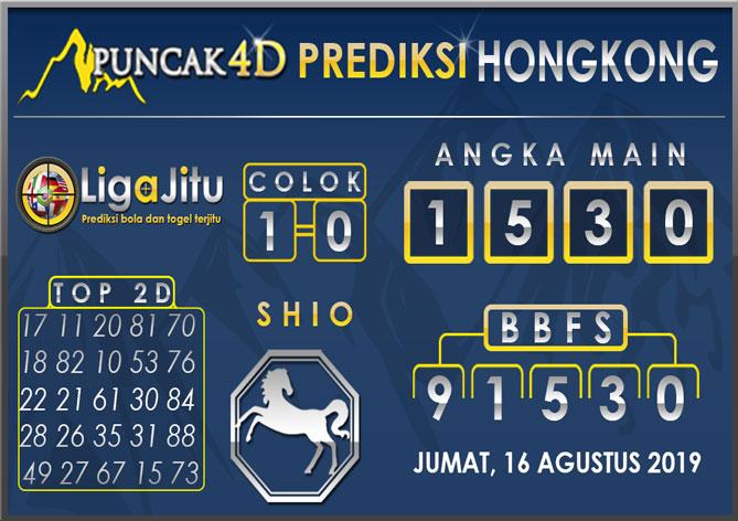 PREDIKSI TOGEL HONGKONG PUNCAK4D 16 AGUSTUS 2019