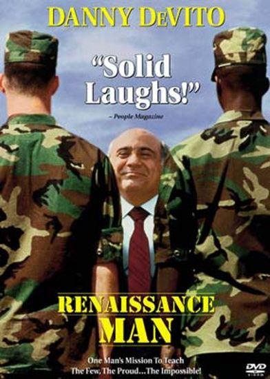 Inteligent w armii / Renaissance Man (1994) PL.WEB-DL.XviD-GR4PE | Lektor PL