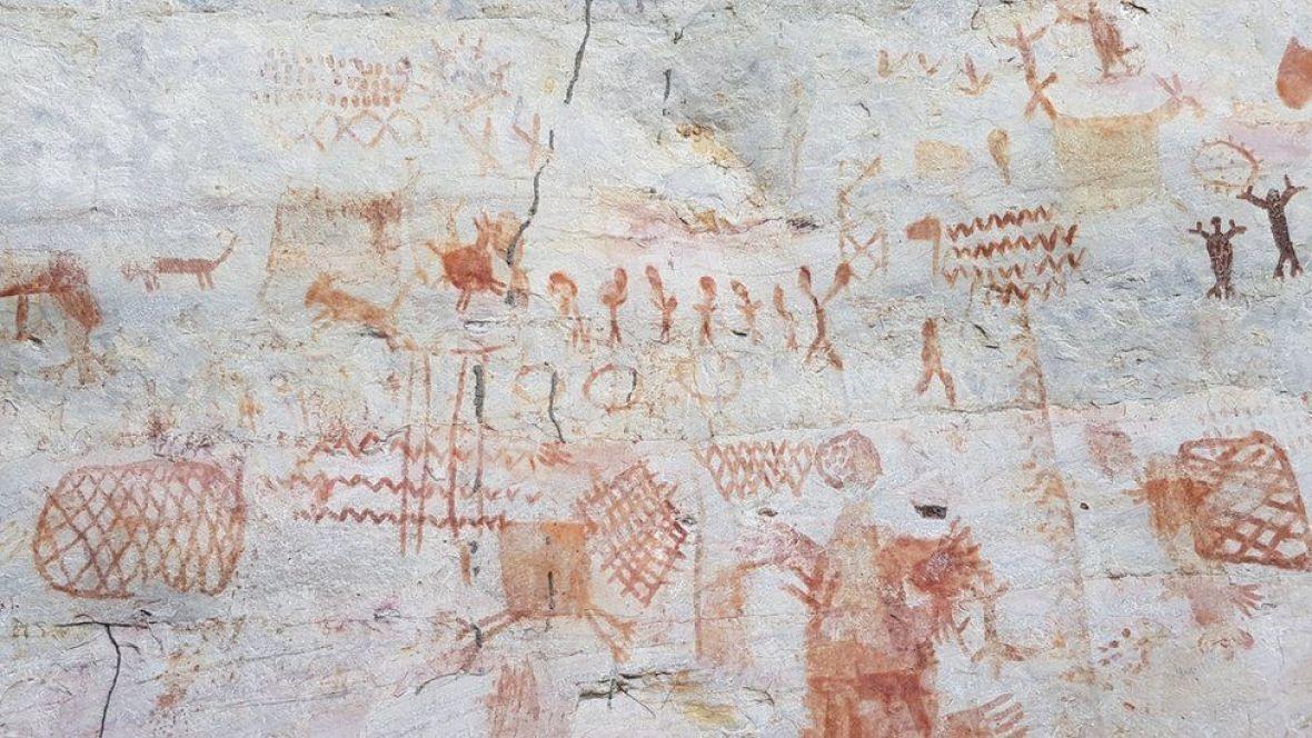 amazon-umjetnost-stijene-drevni-prizor-JOSEIRIARTE7