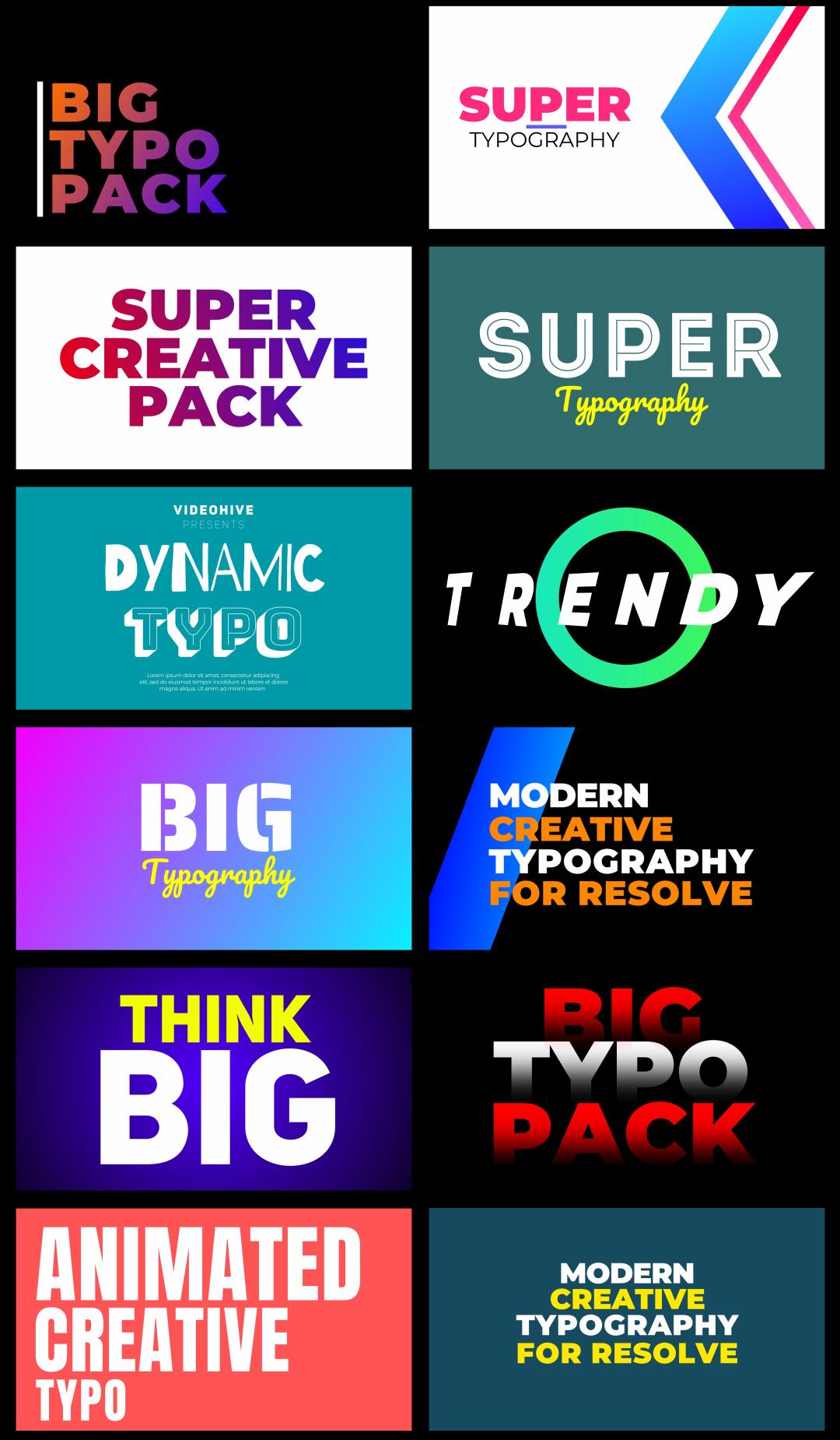 Super Creators Pack (3200+ Elements) - 24