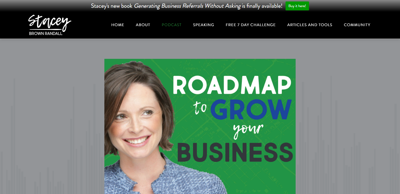 The Roadmap to Grow Your Business travel product recommended by Stacey Brown Randall on Pretty Progressive.