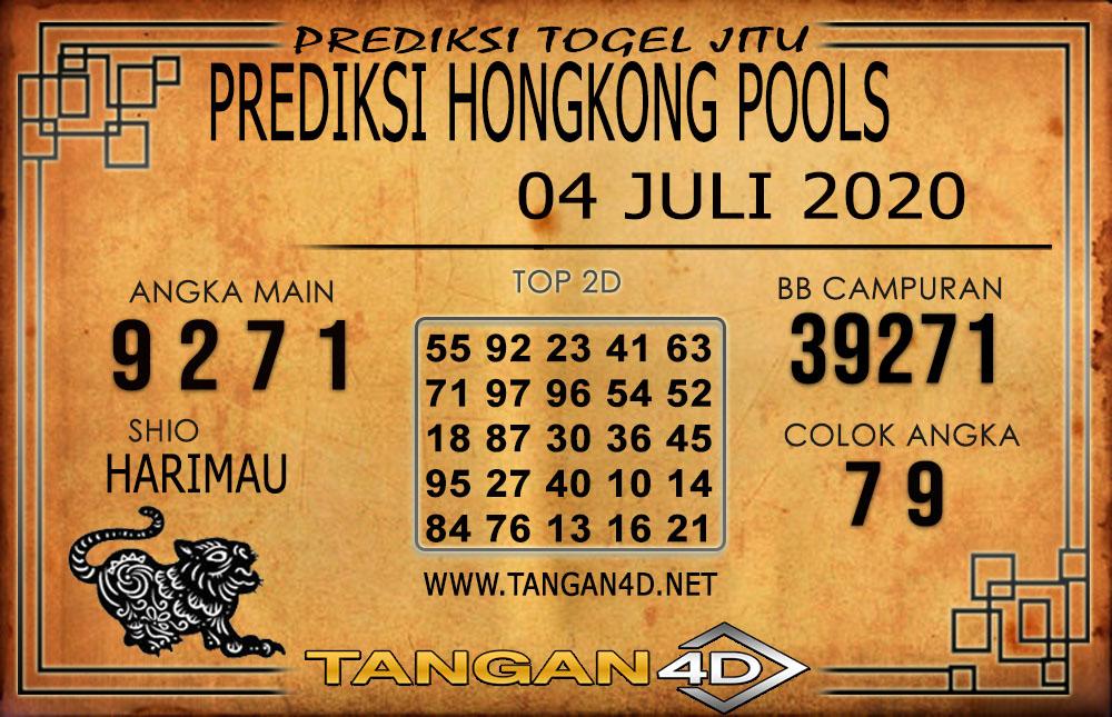 PREDIKSI TOGEL HONGKONG TANGAN4D 04 JULI 2020