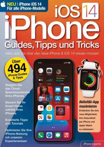 Cover: iPhone iOs 14 Magazin Guides Tipps und Tricks No 01 2021