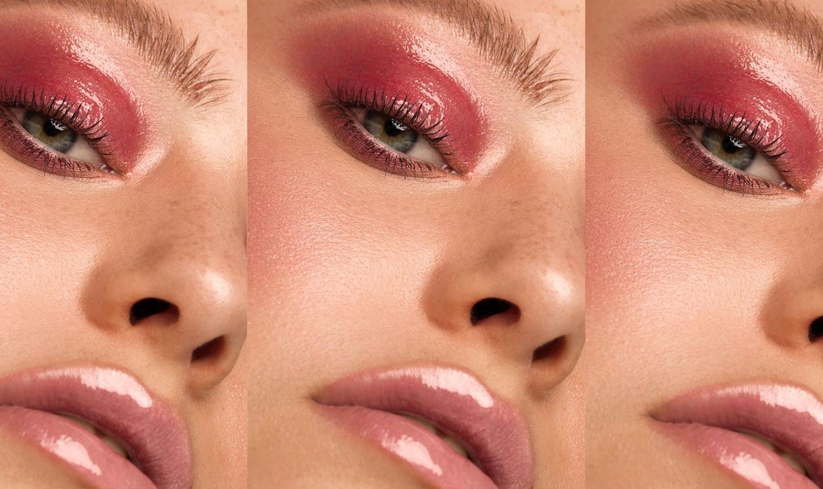 glossy-eyed-model
