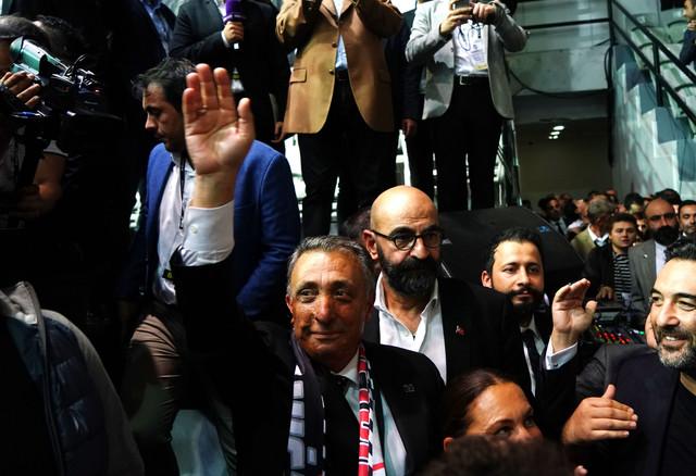 Beşiktaş Kulübü Başkanı Ahmet Nur Çebi'nin açıklamaları