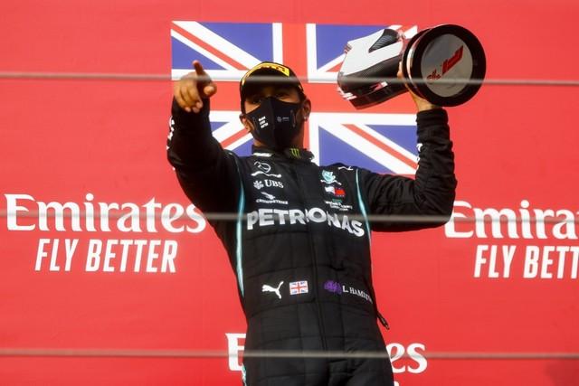 F1 GP Émilia Romagna 2020 : Vitoire Lewis Hamilton, le titre pour Mercedes M250853