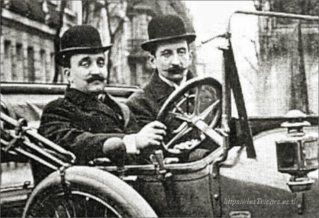 Guy de la Chapelle et Carl de la Chapelle, constructeurs des motos, tricars et automobiles Stimula