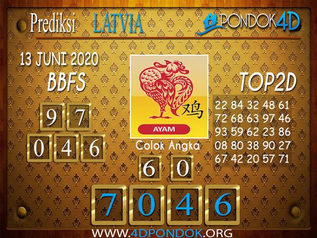 Prediksi Togel LATVIA POOLS PONDOK4D 13 JUNI 2020