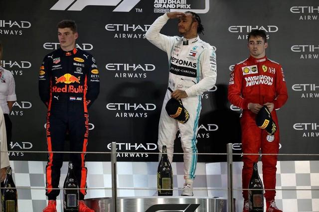 F1 GP d'Abu Dhabi 2019 : Lewis Hamilton termine la saison par une victoire 1025173