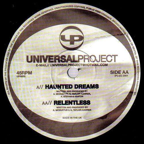 Download Universal Project - Haunted Dreams / Relentless mp3