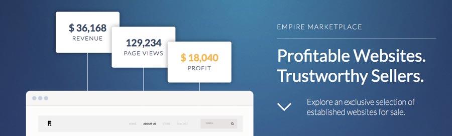 consiga ganhar dinheiro online vendendo seu site