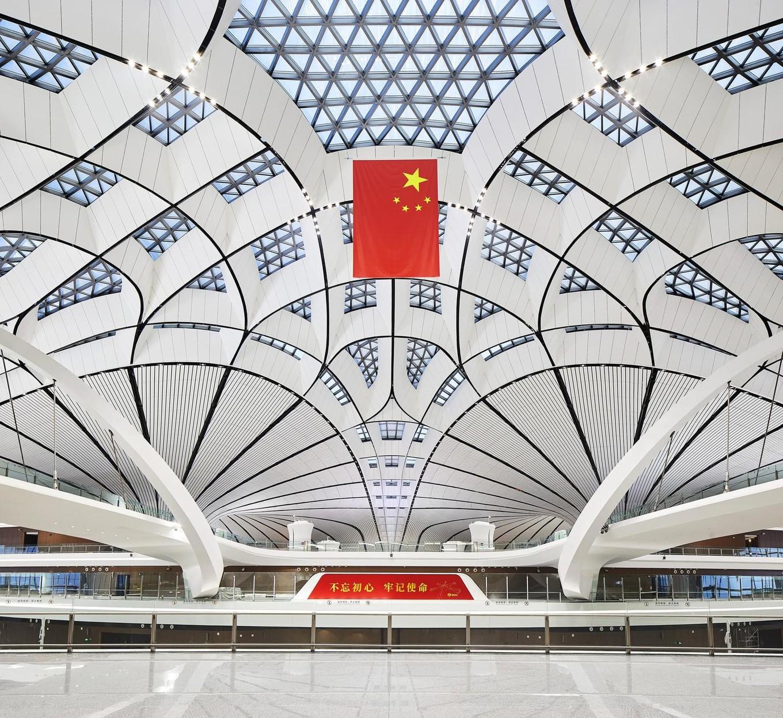 Прогулка по международному аэропорту Пекина Дасин
