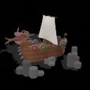 (51) Mi Set de CÓMO ENTRENAR A TU DRAGÓN [RS2][II] [♫] Nave-Vikinga