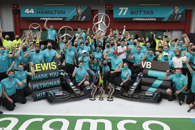 F1 GP Émilia Romagna 2020 : Vitoire Lewis Hamilton, le titre pour Mercedes M251037