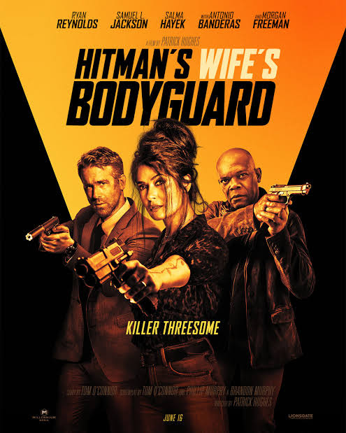 Download Hitman's Wife's Bodyguard 2021 English With Esub HDCamRip 480p [350MB]   720p
