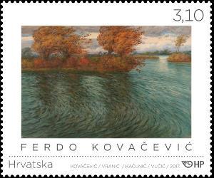 2017. year HRVATSKA-LIKOVNA-UMJETNOST-Ferdo-Kova-evi
