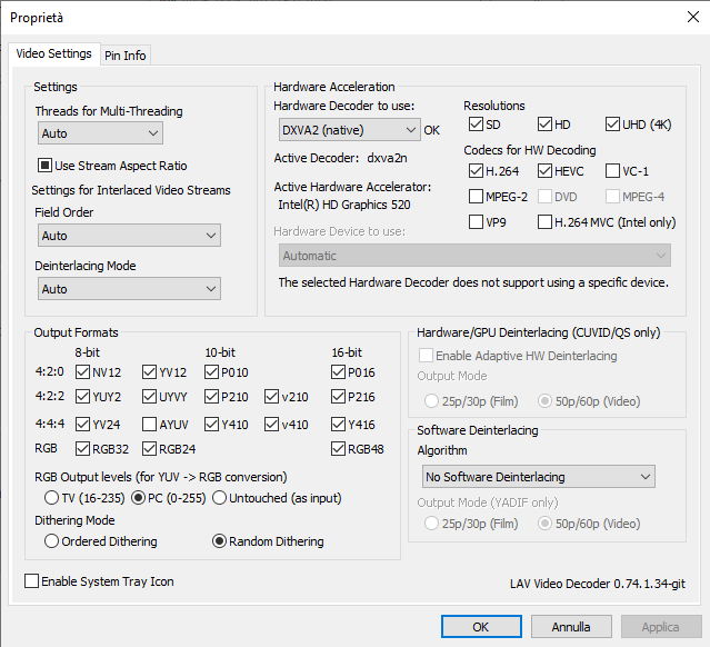 How report crashes in MPC-HC? Settings