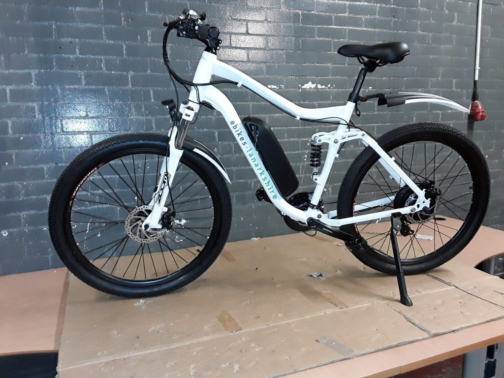 electric bicycle scrambler