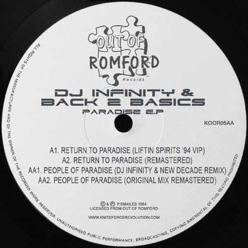 Download DJ Infinity & Back 2 Basics - Paradise E.P. mp3