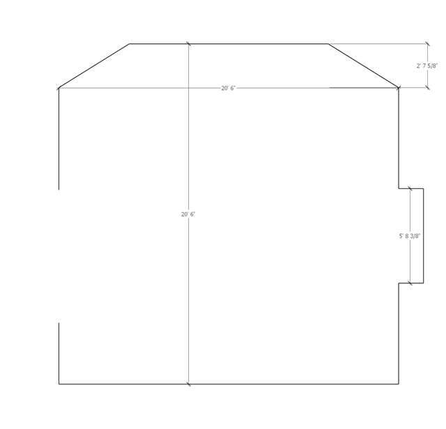 Starting - Room Dimensions