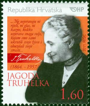 2011. year ZNAMENITI-HRVATI-JAGODA-TRUHELKA