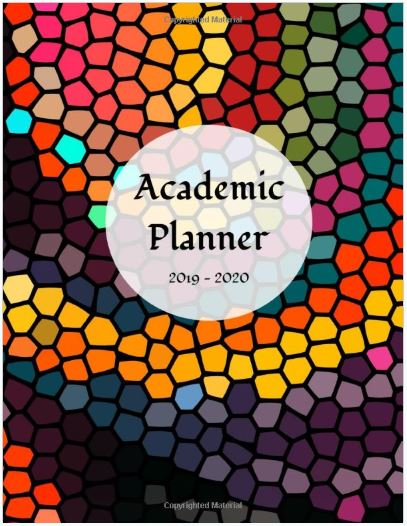 academic planner 2019