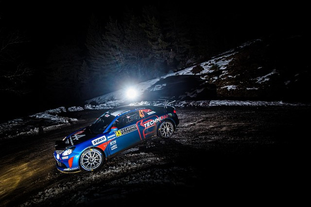 Alpine réussit son retour au Monte-Carlo 2021-Rallye-de-Monte-Carlo-5