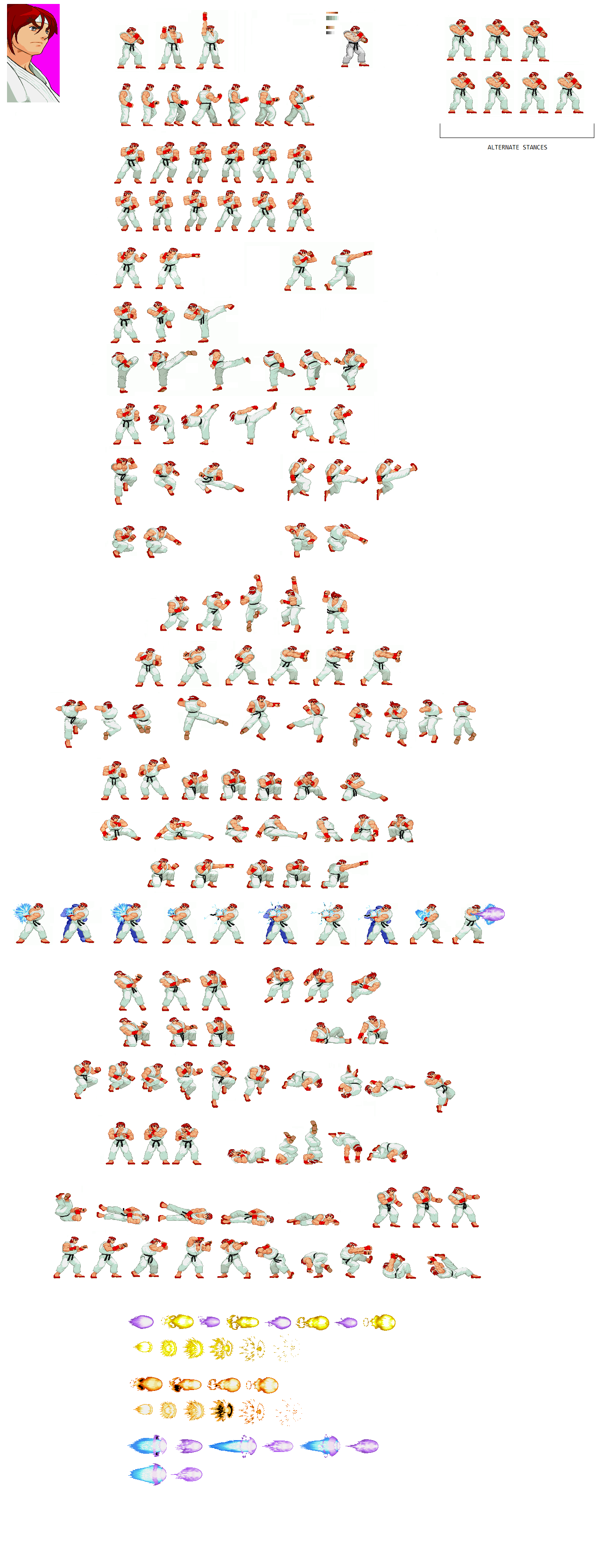 [Image: ryu-sf1-sprite-sheet.png]