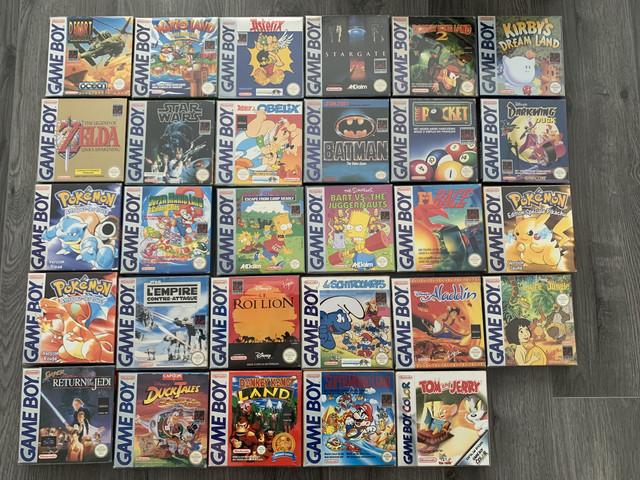 [VENDUE] Ma Collection complète de jeux GAME BOY en boite complète  IMG-8126