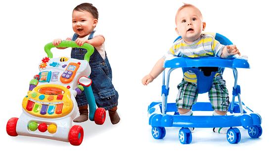 Дети и ходунки