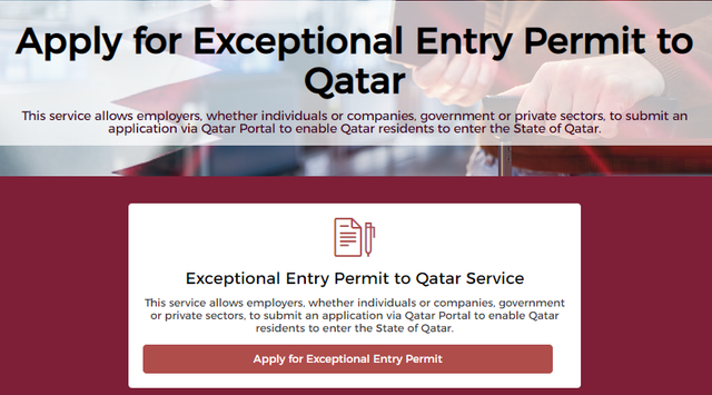 Exceptional-Entry-Permit-to-Qatar-Aug-2020