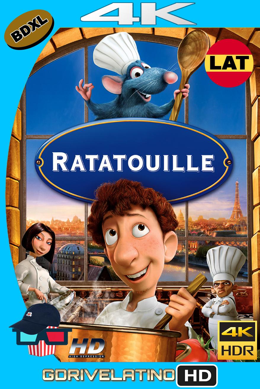 Ratatouille (2007) BDXL UHD 4K HDR Latino-Ingles ISO