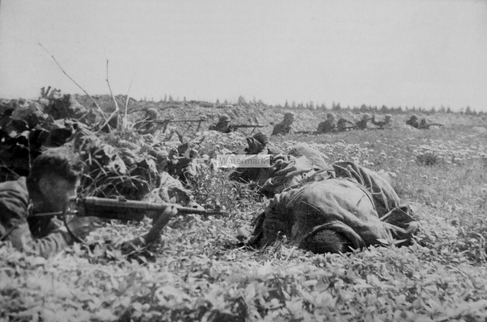WWII-photo-German-army-in-a-defensive-position