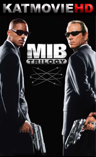Men In Black Trilogy 1,2,3 (1997-2010) BluRay 480p 720p Dual Audio [Hindi + English] MIB Movie Collection