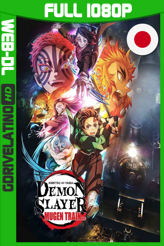 The Demon Slayer: Kimetsu no Yaiba Mugen Train Arc TV (2021) Temporada 01 [03/07] CR WEB-DL 1080p Japonés MKV