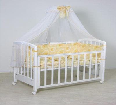 Кроватка с балдахином